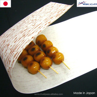 Artificial bamboo skin , food paper packaging , double side coated , odor-free and sanitary