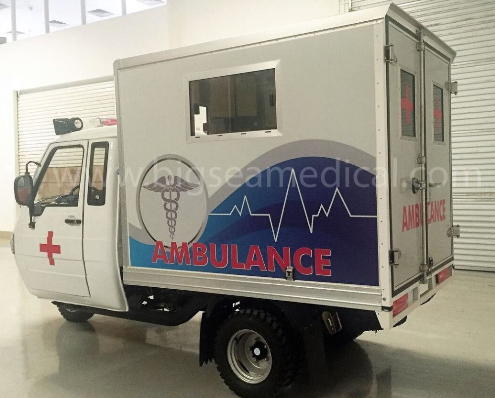 Best Price High Quality Tricycle Ambulance