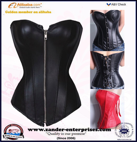 Adult corsets sexy corset / sexy leather corset
