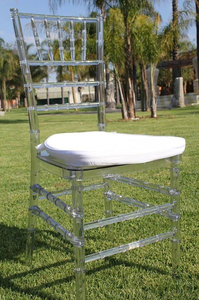 High quality Tiffany Chair Clear and silver wedding tiffany chairs for wedding and event