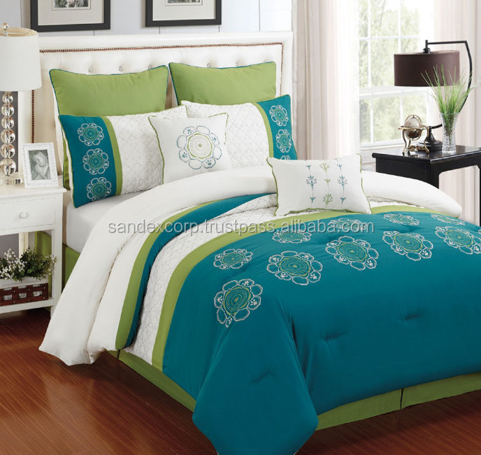 Embroidery Bed Sheets Pictures