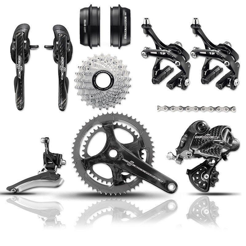 AUTHENTIC CAMPAGNOLO CHORUS CARBON GROUPSET