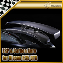 For Nissan R35 GTR Carbon Fiber VA STYLE Carbon Fiber Hyper Narrow GT Wing