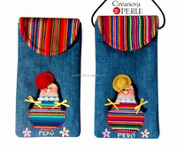 Inca Cell Phone Fabric Pouch