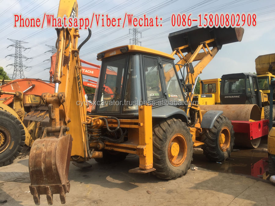 Used JCB 4CX Backhoe Loader, used skid steer mini backhoe /JCB 3CX/John deere 310G machinery for sale!