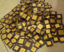 Ceramic 286/386/486 CPU processors for gold recovery