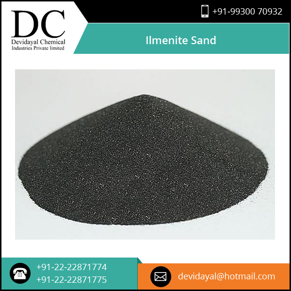 Well Tested Considerable Price of Ilmenite from ISO Certified Company