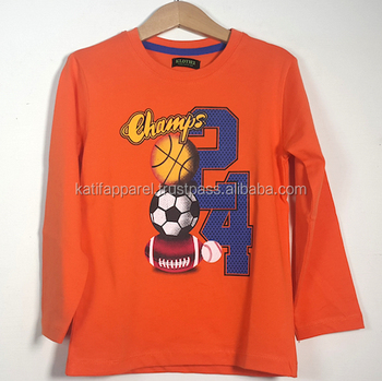 Children football t shirt