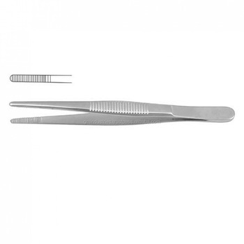 GM Adson Plain Tissue Holding Dressing Forceps Surgical Instruments