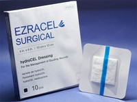 EZRACEL SURGICAL : carboxymethylcellulose Wound Dressing (sodium cmc , aquacel , hydrofiber)