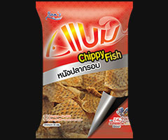BAM's Chippy fish skin in spicy seafood dip flavour 20 gram