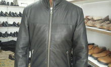 Men Black, Brown Premium Genuine Pure Real Leather cow, sheep Jacket manufacturers