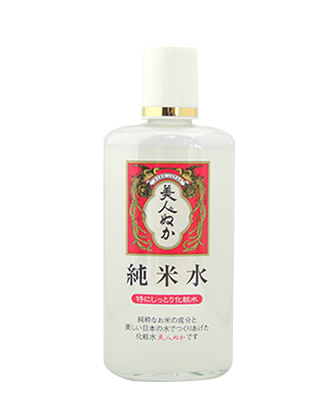 Best-sellingJapanese cosmetic 'Jun-mai water' Rice Bran Extra Moisture Lotion (for dry skin) 130ml