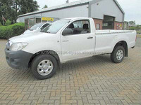 USED PICKUP - TOYOTA HILUX 4X4 SINGLE CAB (LHD 6617)