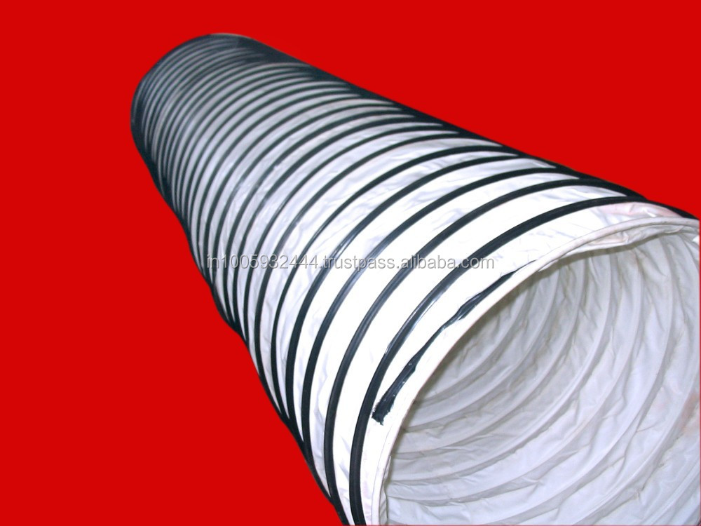 Spiral mining ventilation pvc duct