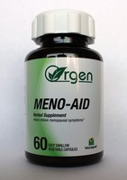 Meno-Aid - Menopause symptom relief - Red clover 300 mg, St. John's Wort 100 mg, Chaste tree 85 mg, Black cohosh 5 mg