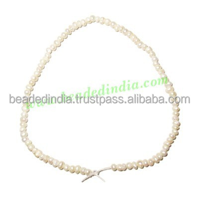 Fresh Water Pearl String, approx 92 pearls of size 1.5mm in a string