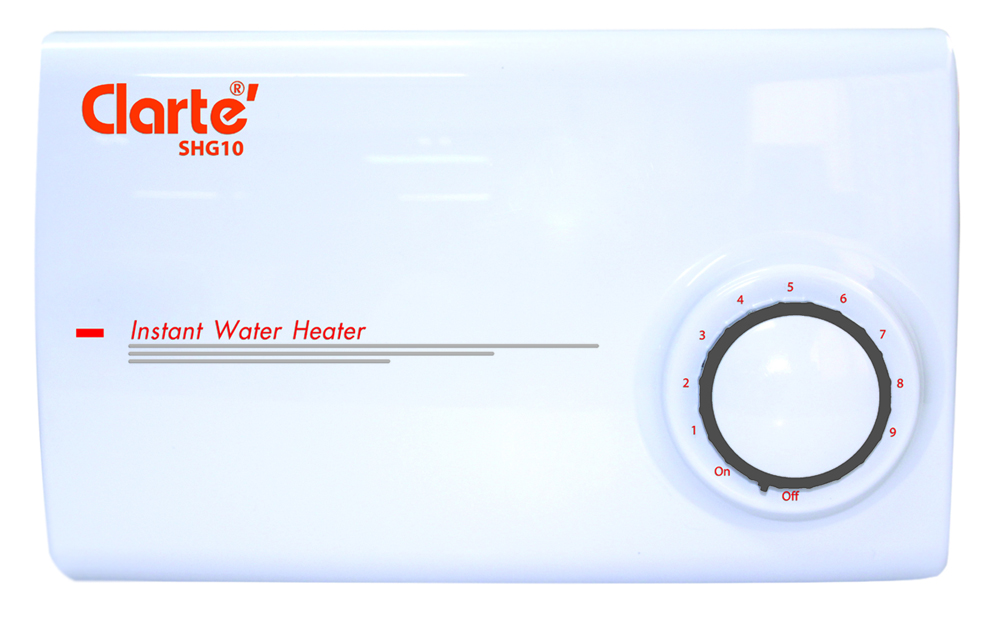 Multi point Water Heater 600 Watts Clarte' SHG10