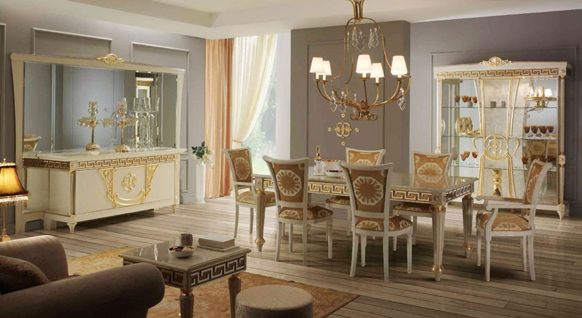 DINING ROOM ITALIAN CLASSIC FURNITURE - SAMOS