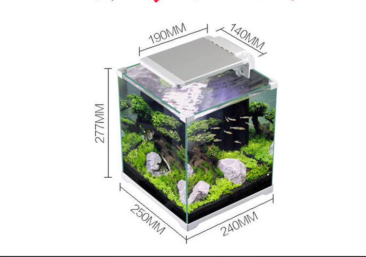 Sunsun Portable Tropical Plant Aquarium Fish Tank For Fish