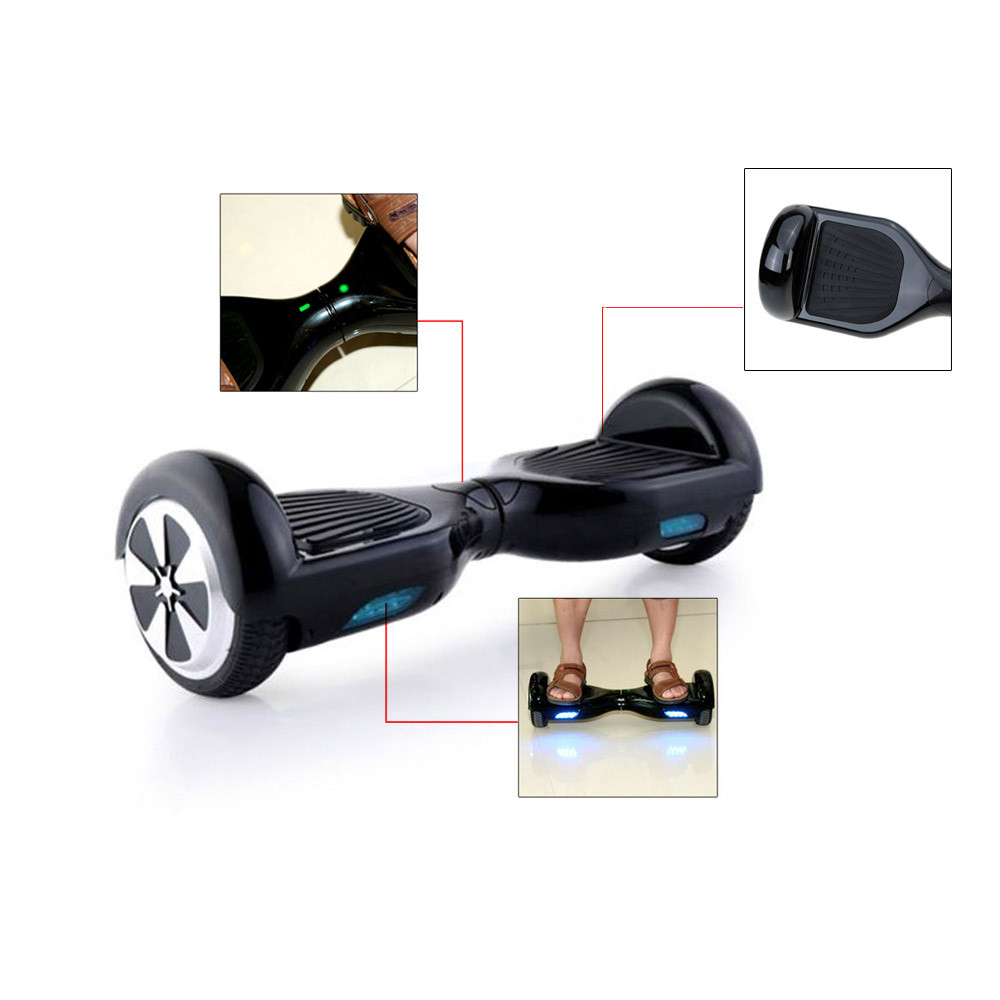 Dual Wheels 6.5 inch Self Balancing Hoverboard Outdoor SmartScooter with LED Light Y3360B