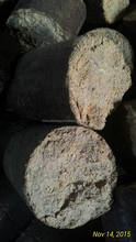 Cylindrical Rice Husk Briquette