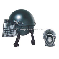 ARH-18 Anti-riot helmets with polycarbonate visor and metal frame,french style tactical helmet