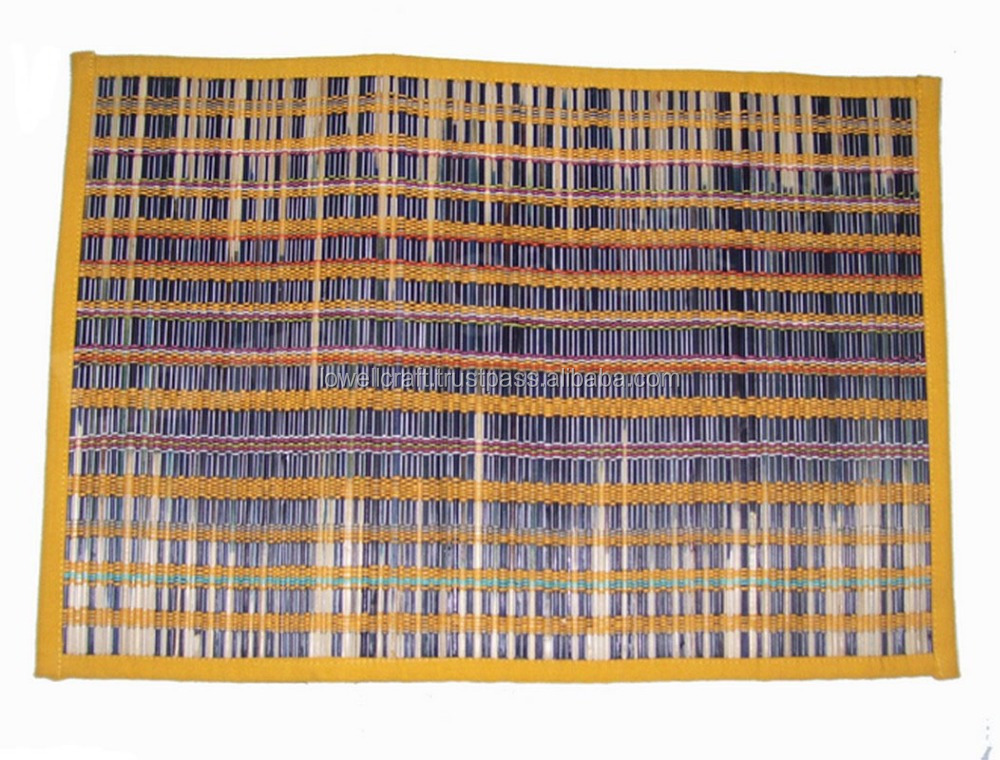 KORA DYED TABLE PLACEMAT MULTICOLOR