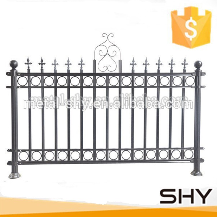 Used wrought iron fencing for garden buy