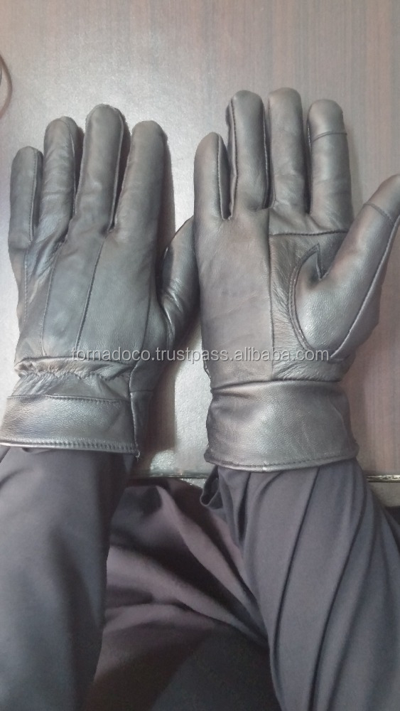 Best Quality Men's Genuine Leather Winter Dress Gloves Touch screen by Tornado