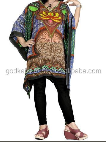High Street Fashion Style Women's Poly Georgette kaftan/Popular /fashionable/wholesale/New Manufactured/Stylist/Unique/partywear