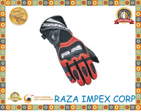 2016 Raza Impex new popular strong black goatskin for motorbike gloves with wholesale price