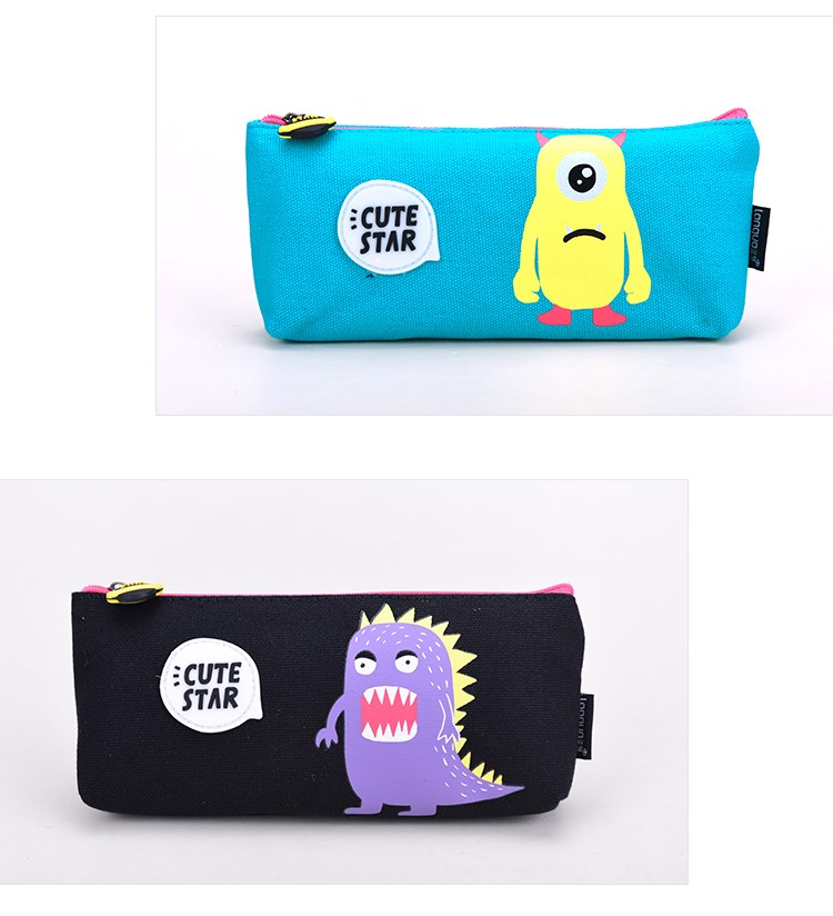 2016 New Design Languo Style Cute Cartoon Design With Zipper Pencil Case LG-8358