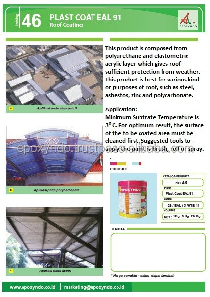 PLAST COAT EAL 91 - roof coating
