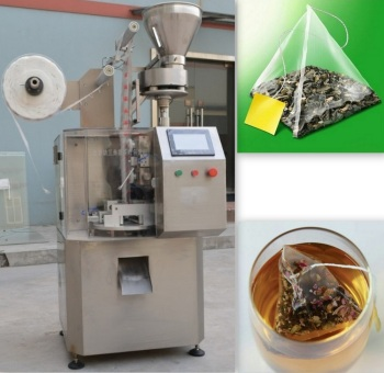 Automatic Triangle Pyramid Tea Bag Packing Machine