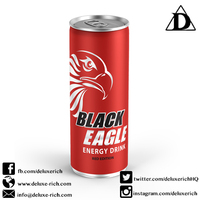 Non Carbonated Energy Drink Red Edition