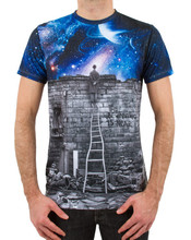 100% polyester Sublimation t shirt printed OEM service