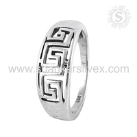 popular ! 925 Sterling Silver Jewelry Wholesale, Silver Jewellery India, Silver Handmade Jewelry Ring Supplier