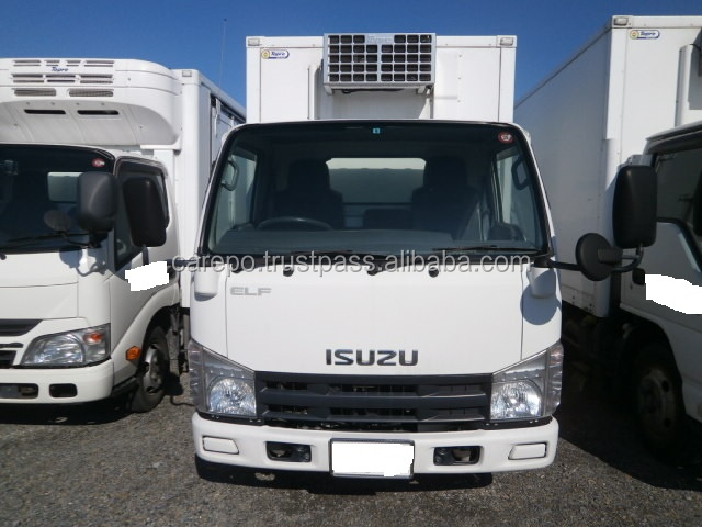 USED DIESEL VEHICLES (HIGH QUALITY & GOOD CONDITION) FOR ISUZU ELF TRUCK 2008 BKG-NJR85AN