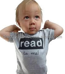 100%Cotton Round Neck Short Sleeve Baby T-Shirts soft cheap Blank promotional Baby T Shirt Made In China