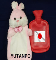 Rabbit fine pretty soft cover japanese most famous eco warmer goods