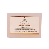 Khadi Pure Herbal Lemon Soap