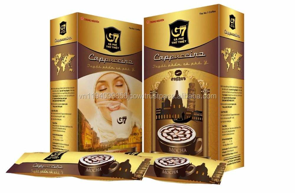 G7 Cappuccino Chocolate instant coffee