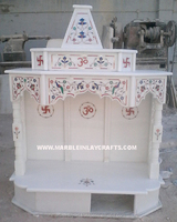 Beautiful White Marble Mandir