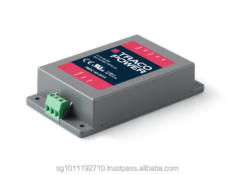TRACO POWER TMDC 40 series Power Supply / a range of encapsulated high performance DC/DC converter modules