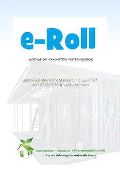 E-Rolling Machine - Light Steel Frame forming