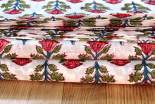 Textile Hand Block Printed Fabric Cotton Fabric Printed Running Fabric