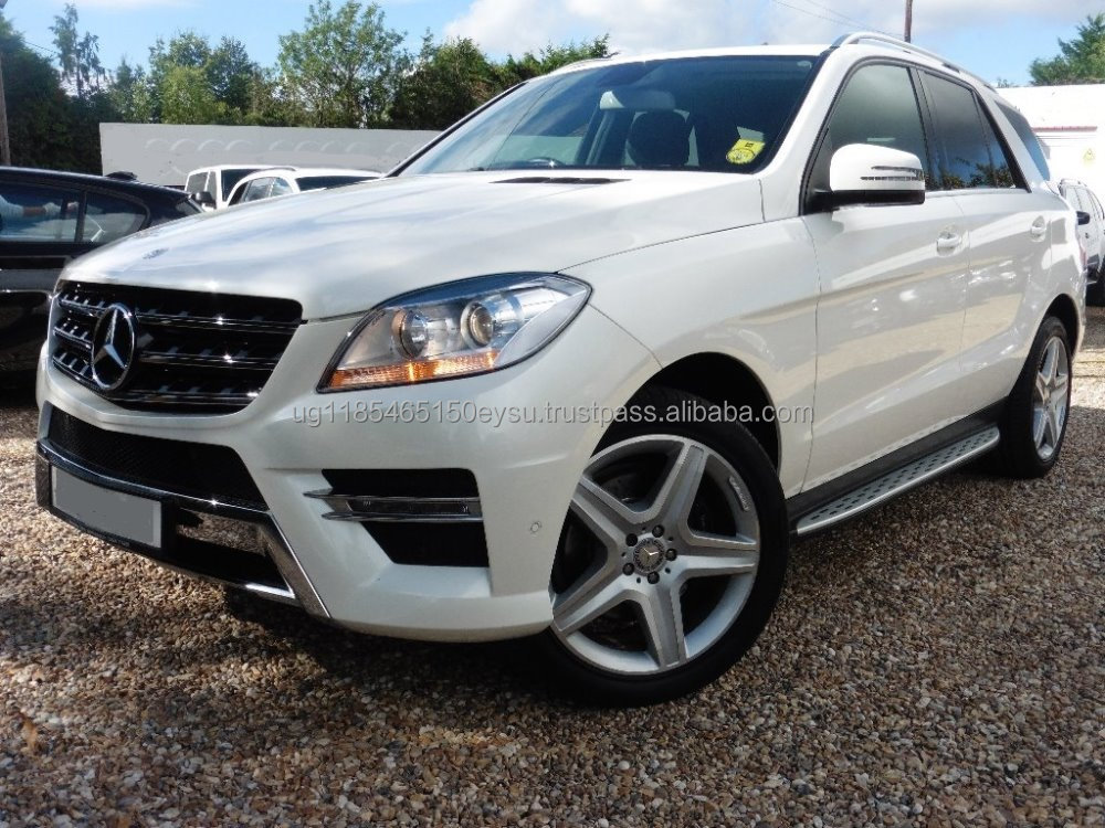 Used RHD Mercedes Benz ML250 CDI BlueTech Sport 2013