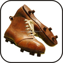 Retro Soccer Shoes made by real leather