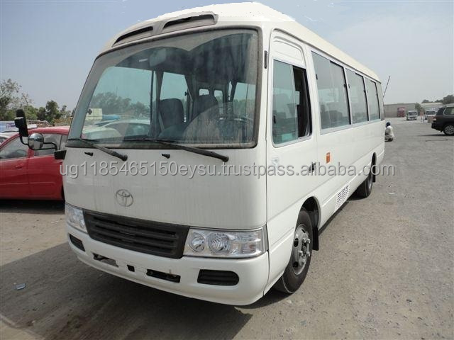 Used LHD Toyota Coaster bus 30 2011